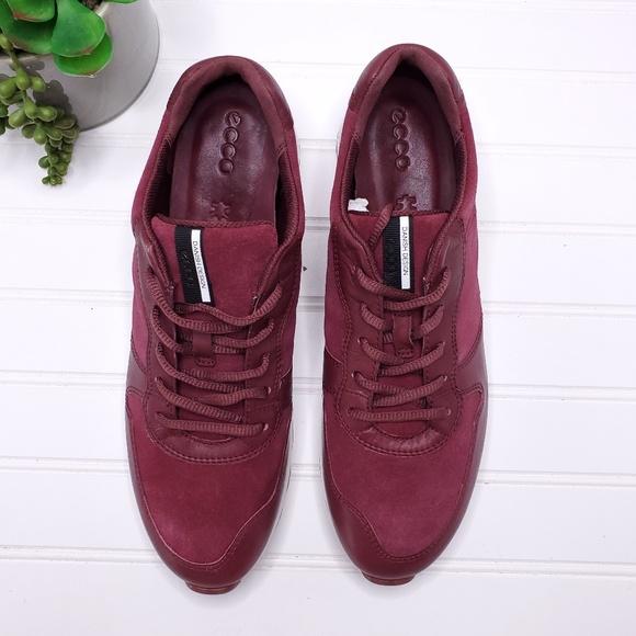 ECCO Womens Sneak Retro Tie Fashion Sneaker